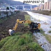 distruzione biodiversità bisagno GE
