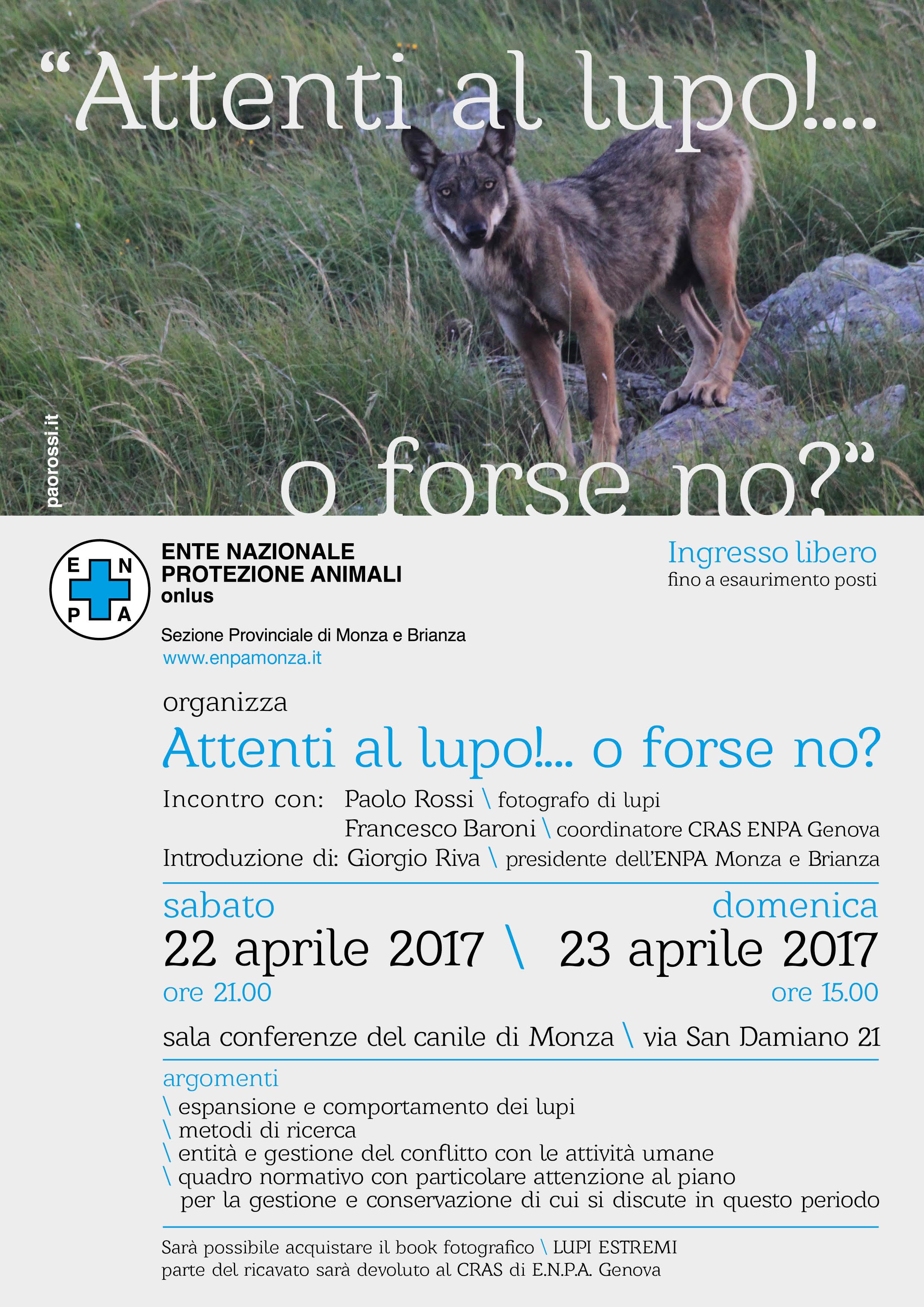 locandina conferenza LUPI 2017